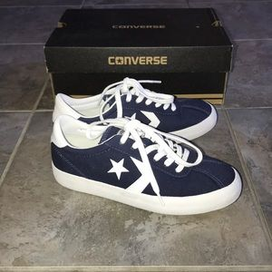 New Navy Blue White Converse Breakpoint Ox Sneaker